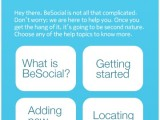 BeSocial: Get some help!